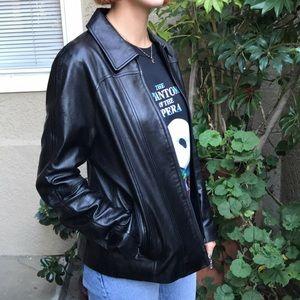 Black Maxima Wilsons Leather jaket